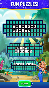 Bubble Pop: Wheel of Fortune! Puzzle Word Shooter Apkfinish screenshots 1