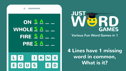 Just Word Games - Guess the Word & Word Puzzles 1.10.5 screenshots 7