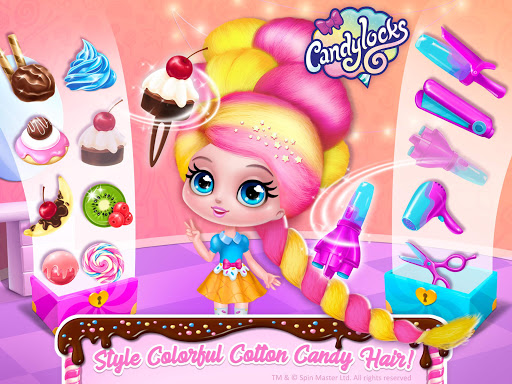 Candylocks Hair Salon - Style Cotton Candy Hair  Screenshots 15