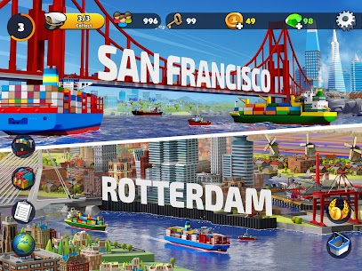 Free Port City  Ship Tycoon Apk Download 2021 4