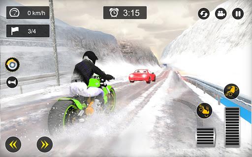 Snow Mountain Bike Racing 2021 - Motocross Race android2mod screenshots 10