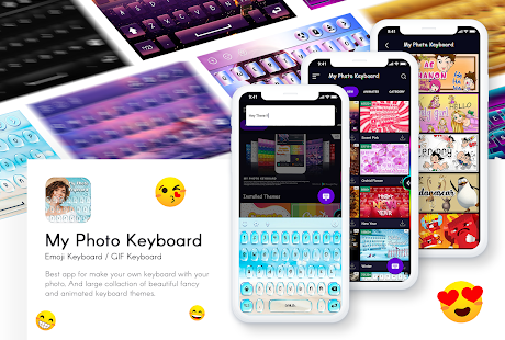 Picture Keyboard - My Photo Keyboard, Theme & GIFs Screenshot
