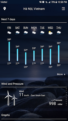 Weather - Weather Real-time Forecast 1.3 Screenshots 2