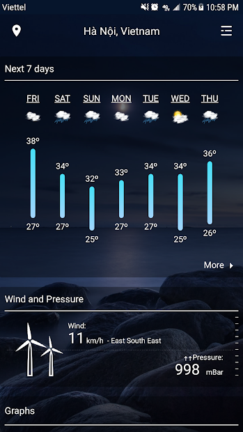 Imágen 3 de Weather - Weather Real-time Forecast para android