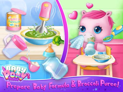 Baby Pony Sisters - Virtual Pet Care & Horse Nanny 5.0.14007 screenshots 12