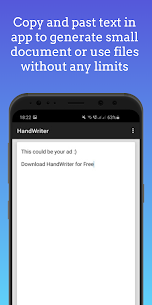 HandWriter – Сonverter to Handwritten Text 1.4.7 Apk 3