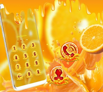 Orange Launcher Theme 1.2 Mod + APK + Data UPDATED 2