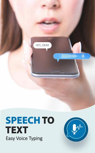 Speech To Text Converter - Voice Typing App android2mod screenshots 1