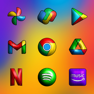 Painting 3D – Icon Pack APK [PAID] Download Latest Version 4