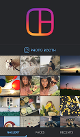 screenshot of Layout from Instagram: Collage