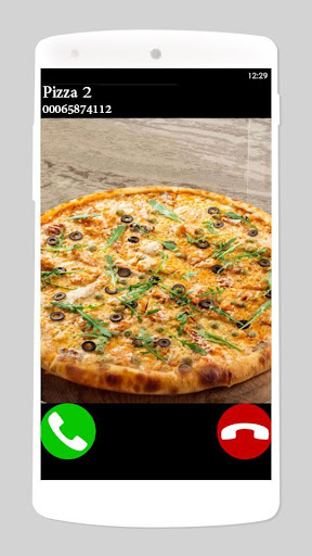 fake call pizza game 2 3.0 screenshots 1