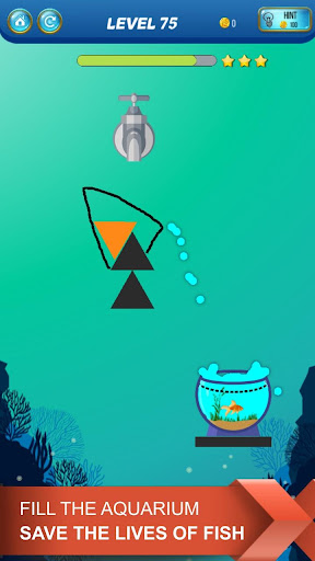 Save The Fish - Physics Puzzle Game  screenshots 5