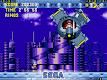 screenshot of Sonic CD Classic