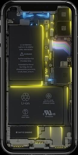 Phone Electricity Live Wallpaper  Screenshots 7