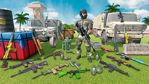 Gun Shooting Games: fps shooting commando strike  screenshots 4