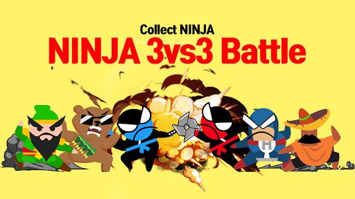 Jumping Ninja Battle - Two Player battle Action 3.98 screenshots 3