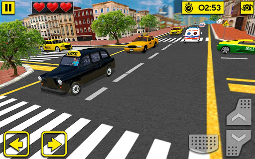 City Taxi Driving Sim 2020: Free Cab Driver Games android2mod screenshots 3
