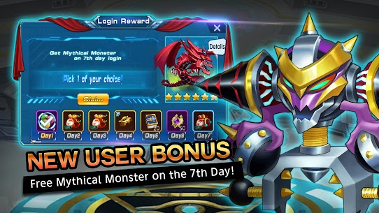 Monsters League 1.0.2 Mod APK (Unlock All) 1