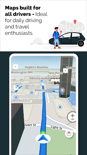 GPS Live Navigation, Maps, Directions and Explore  Screenshots 17