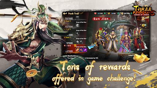 Three Kingdoms:Heroes of Legend  screenshots 1