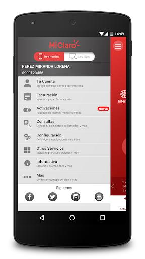 Mi Claro Ecuador 4.2.3 Screenshots 3