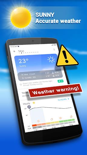 Weather Forecast - Live Weather Radar app 1.2.9 Screenshots 1