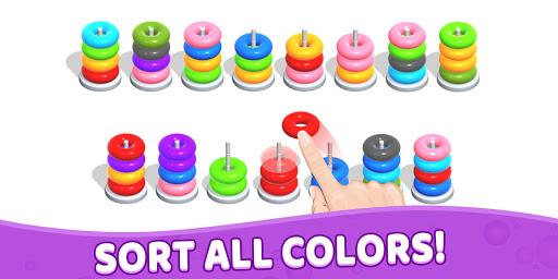 Color Hoop Stack - Sort Puzzle 1.1.2 screenshots 21