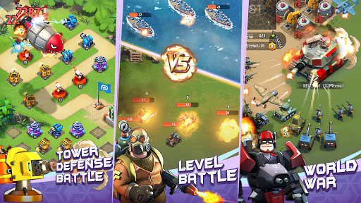 Top Defense:Merge Wars 1.0.15 screenshots 12