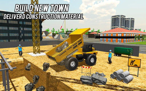 Heavy Excavator Crane Game Construction Sim 2019 apkdebit screenshots 11
