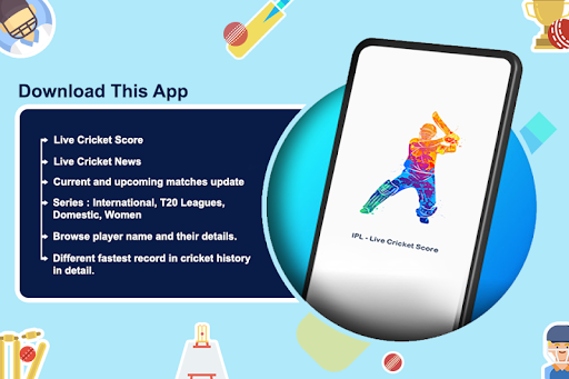 Live Cricket Score - IPL Live Match Score  screenshots 1