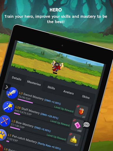 Mana Storia - Simple Browser MMORPG (Beta) 1.3 screenshots 12