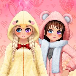 Captura 10 de My Webtoon Character Girls - K-pop IDOL Maker para android
