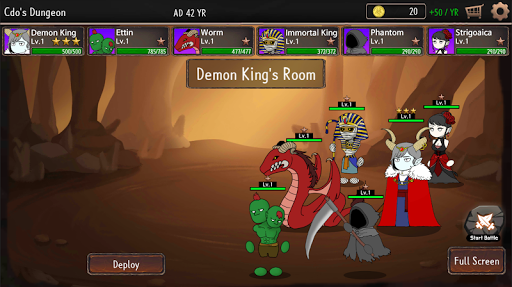 CDO:Dungeon Defense Game - Chief Dungeon Officer 1.01.09 screenshots 2