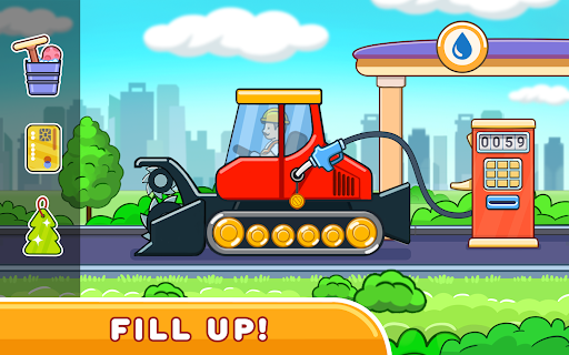 Car games for kids: building and hill racing 0.1.9 screenshots 8