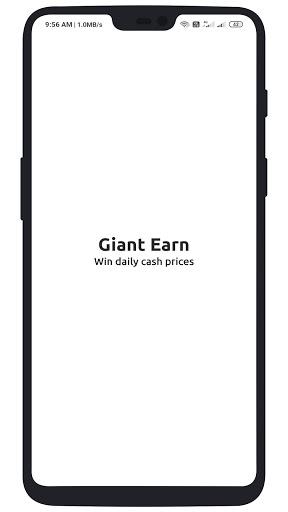 Giant Earn - Earn Money Daily 2.0 screenshots 1
