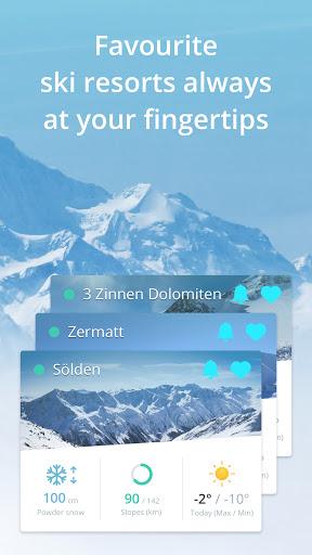 Snowthority: ski, snow, lift, slope map & ski info  Screenshots 5