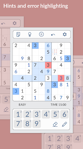 SUDOKU - Free Games 1.2.617 screenshots 3