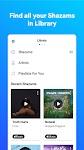 screenshot of Shazam: Discover songs & lyrics in seconds