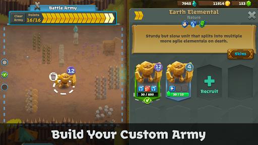 Battle Legion - Mass Battler  screenshots 2