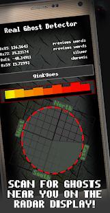 Real Ghost Detector - Ghost Scan Radar Simulator
