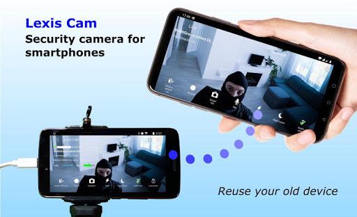Security camera for smartphones, Lexis Cam  Screenshots 1
