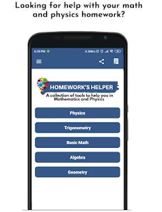 Homework's Helper