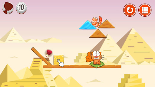 Hungry cat: physics puzzle game apkdebit screenshots 4