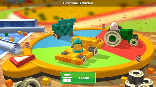 Pixel Car Racing - Voxel Destruction  screenshots 1