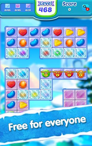 Code Triche Candy Ice Cream - Free Match 3 Game (Astuce) APK MOD screenshots 5