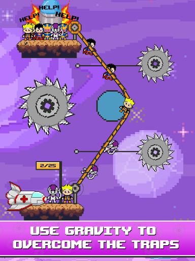 Rope Pixel Master - Rescue Hero Academy 0.14 screenshots 8