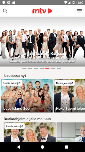 mtv Suomi android2mod screenshots 1
