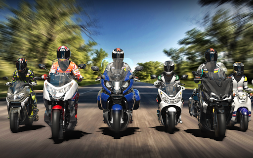Real Moto Traffic Apkfinish screenshots 21