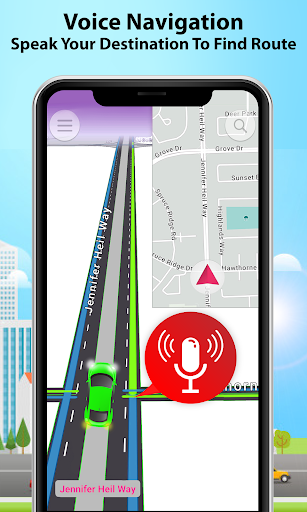 GPS Alarm Route Finder - Map Alarm & Route Planner 1.5 Screenshots 6