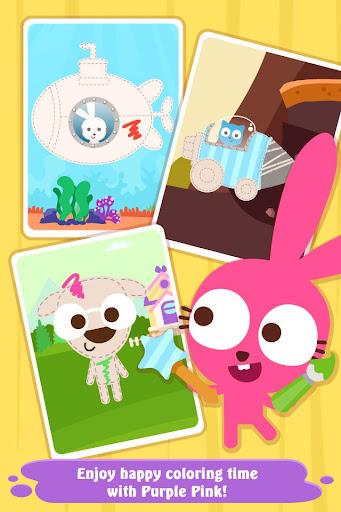 Code Triche Purple Pink Coloring Fun (Astuce) APK MOD screenshots 5